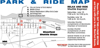 Park & Ride Map