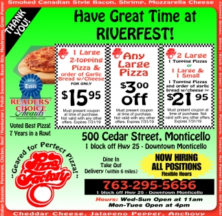 Have Great Time at Riverfest!