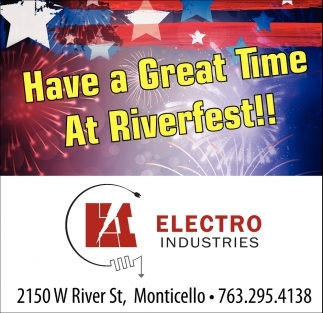 Have a Great Time at Riverfest!