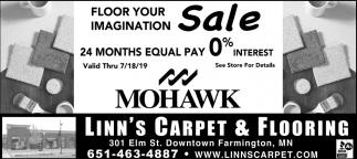 Floor Your Imagination Sale