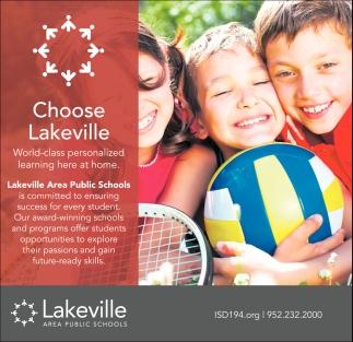 Choose Lakeville