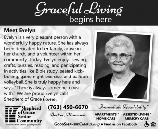 Graceful Living Begins Here