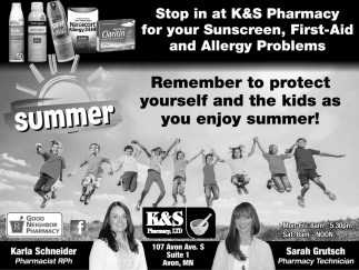 Remember to Protect Yourself and the Kids as You Enjoy Summer!