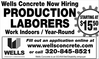 Welders & Production Laborers