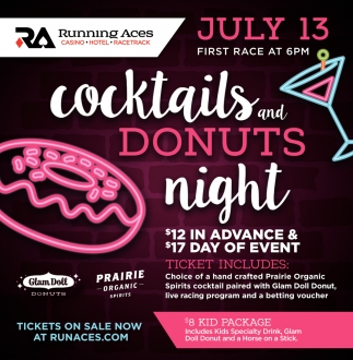 Cocktails and Donuts