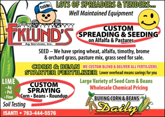 Custom Spreading & Seeding