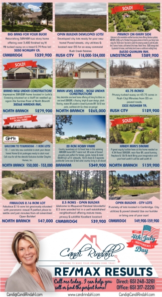 I Can Help You Sell or Find the Perfect Home!