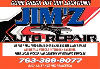 Come Check Out Our Location!