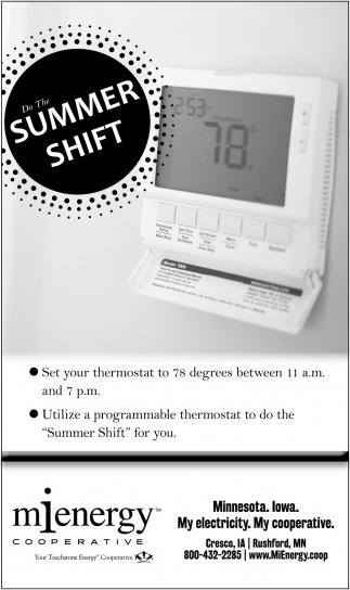 Do the Summer Shift