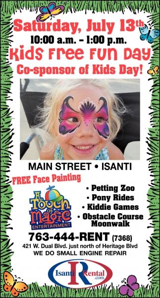Kids Free Fun Day