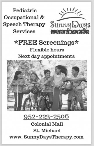Pediatric Occupational & Speech Therapy Services