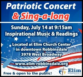 Patriotic Concert & Sing-a-Long