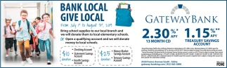 Bank Local, Give Local