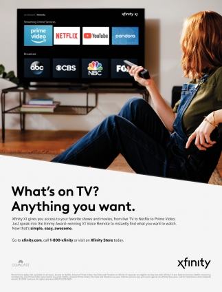 What's On TV? Anything You Want
