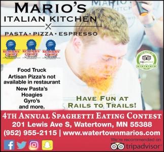 4th Annual Spaghetti Eating Contest