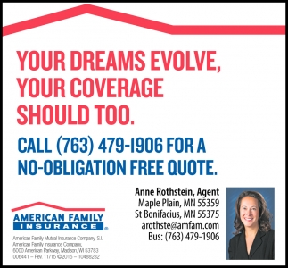 Your Dreams Evolve, Your coverage Should Too