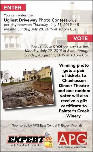 Ugliest Driveway Photo Contest