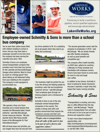 Employee-Owned Schmitty & Sons is More than a School Bus Company