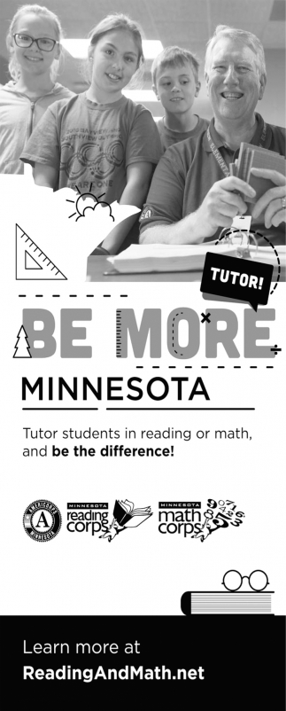 Tutor Students in Reading or Math and be the Difference!