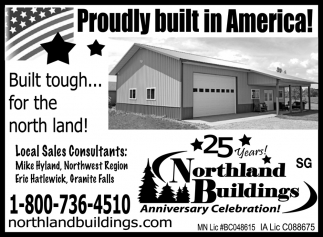 Proudly Built in America!