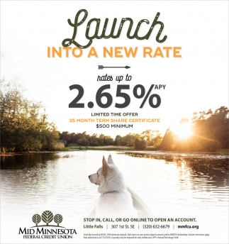 Launch Into a New Rate