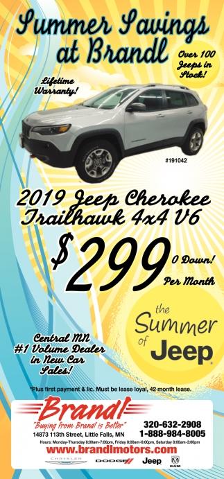 Summer Savings at Brandl