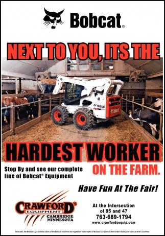 Hardest Worker on the Farm