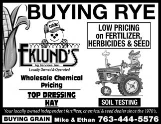 Buying Rye