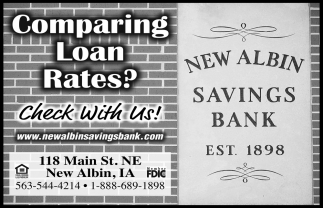 Comparing Loan Rates?
