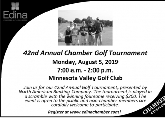 42nd Annual Chamber Golf Tournament
