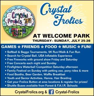 Crystal Frolics 2019
