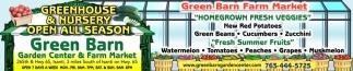 Greenhouse & Nursery Open All Season
