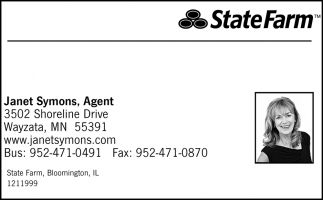 Janet Symons, Agent