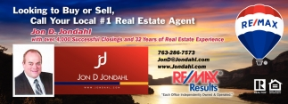 Looking to Buy or Sell, Call Your Local #1 Real Estate Agent