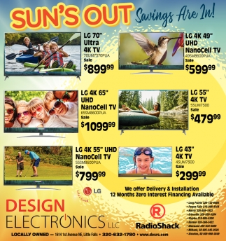 Sun's Out Savings are In!