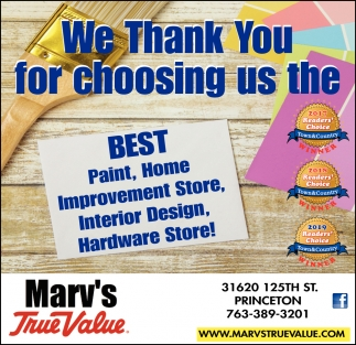 We Thank You for Choosing Us the Best Paint, Home Improvement Store, Interior Design, Hardware Store!