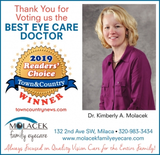 Thank You for Voting Us the Best Eye Care Doctor