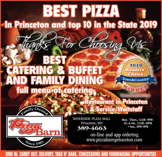 Best Pizza in Princeton and Top 10 in the State 2019