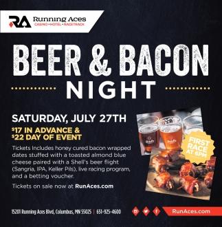Beer & Bacon Night