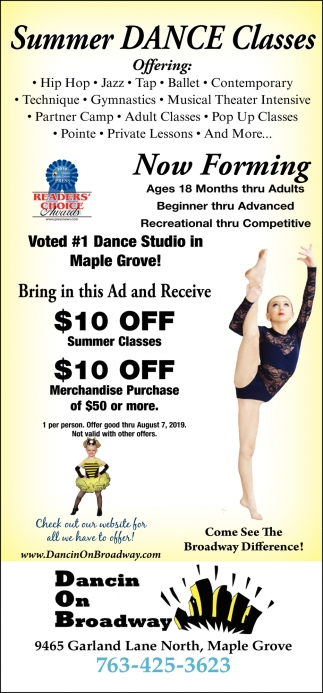 Summer Dance Classes