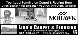 Your Local Farmington Carpet & Flooring Store