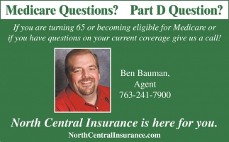 North Central Insurance Agency is here for You