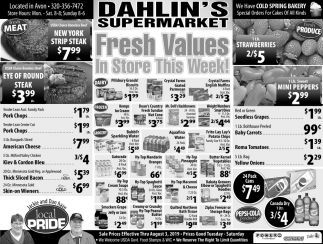 Fresh Values in Store this Week!