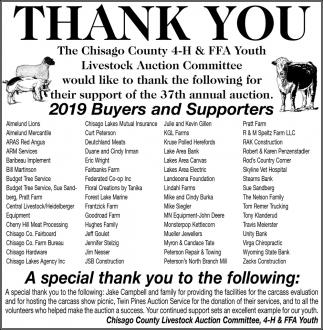 Thank You, Sponsors