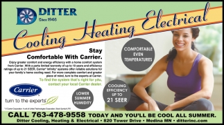Stay Comfortable with Carrier