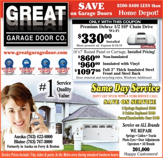 Save On Garage Doors