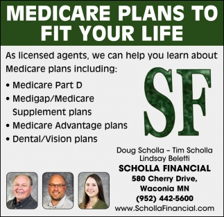 Medicare Plans to Fit Your Life