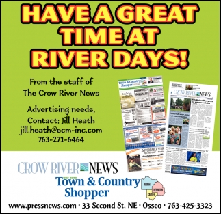 Have a Great Time at River Days!