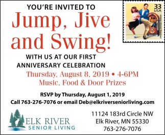 You're Invited to Jump, Jive & Swing!