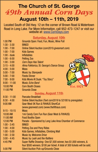 49th Annual Corn Days